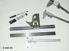 Assorted Calipers, Rulers, Square