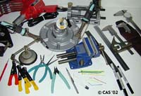 Some Of The Tools We Use